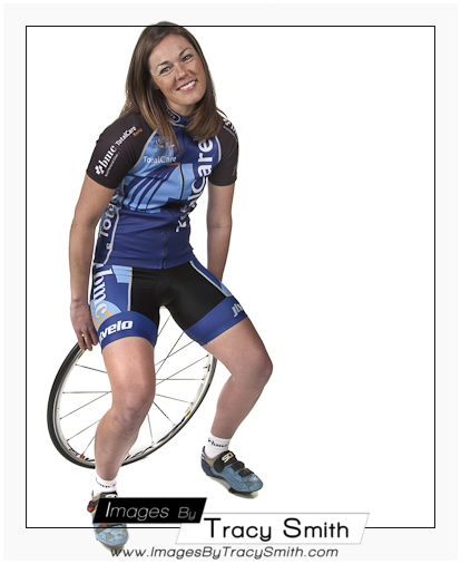Heather: Model session: bicycle racer