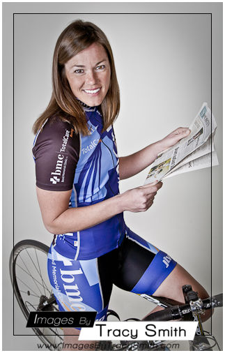 Heather: Model session: bicycle racer/lifestyle